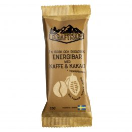 Färsk ekologisk energibar Kaffe & kakao