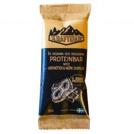 Ekologisk vegansk proteinbar Jordnötter & mörk choklad
